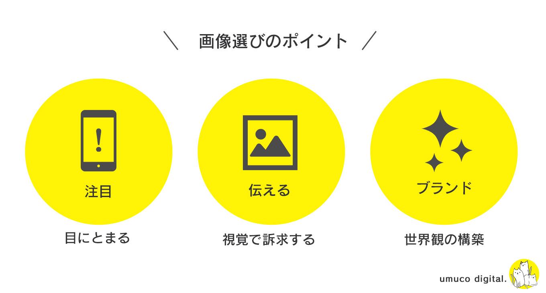 アイキャッチ画像選び3つのポイント