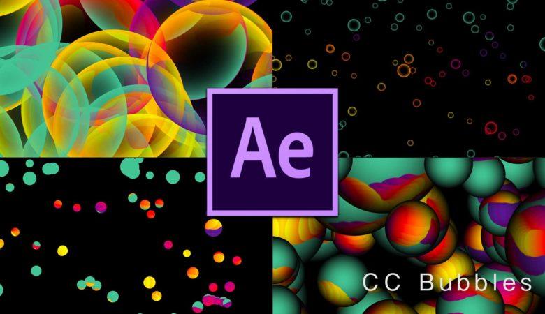 【Ae/全エフェクト実験】CC Bubbles(泡)の表現力をとことん検証。