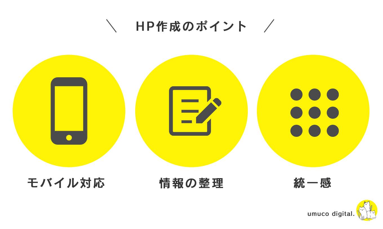 HP作成のポイント